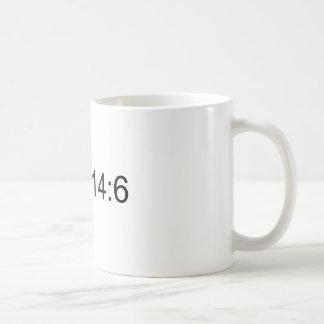 John 14:6 basic white mug