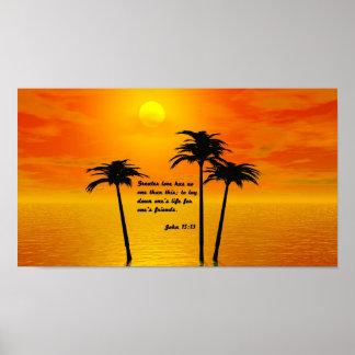 John 15:13 poster