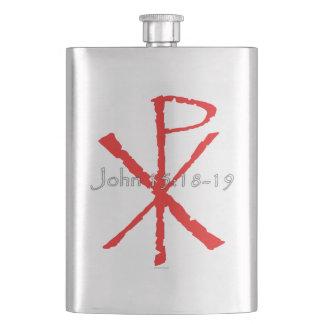 John 15:18-19 flasks