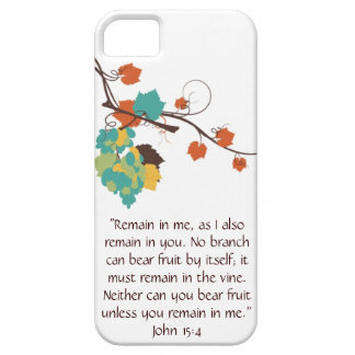 John 15:4 iPhone Case