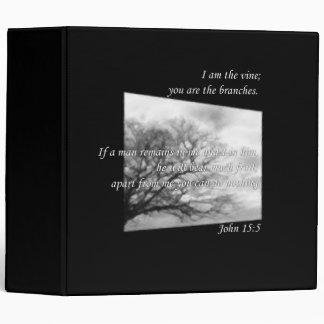 John 15:5 ~ Vine and Branches Binder