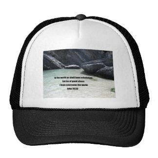 John 16:33 trucker hat