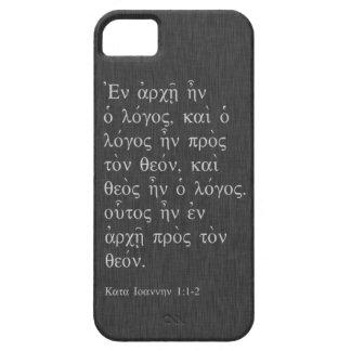 John 1:1-2 iPhone 5 case