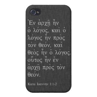 John 1:1-2 iPhone 4/4S cover