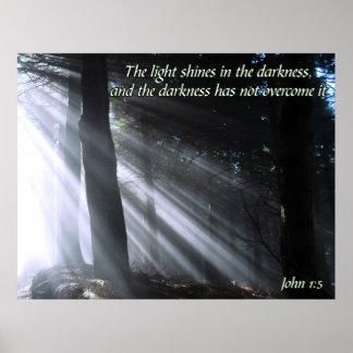 John 1:5 poster