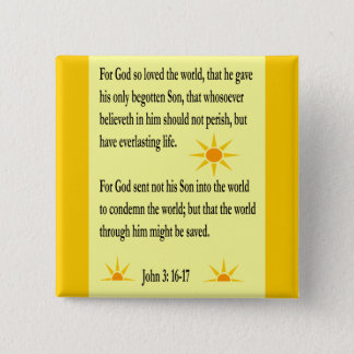 John 3:16-17 button