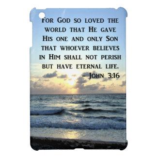 JOHN 3:16 BLUE SKIES SCRIPTURE PHOTO iPad MINI CASE