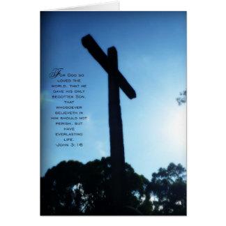 John 3:16 card