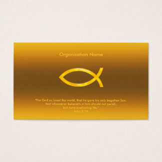 John 3:16 | Christian Business Card