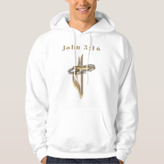 John 3:16 clothing hoodie