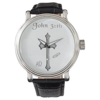 John 3:16 clothing wristwatches