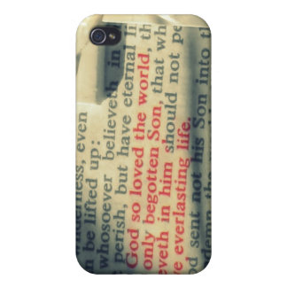 John 3:16 cover for iPhone 4
