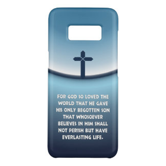 John 3:16 For God So Loved the World Christian Case-Mate Samsung Galaxy S8 Case