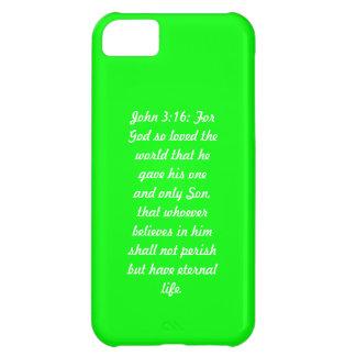John 3;16 Green 3:16 Case-Mate  iPhone 5 Case