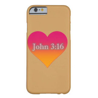 John 3:16 iPhone 6/6s, Barely There Phone Case