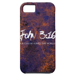 John 3:16 iphone case grunge