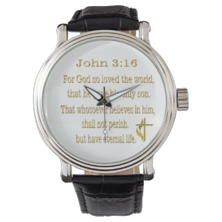 John 3:16  items watch