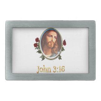 John 3:16 merchandise belt buckle