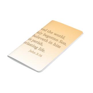 John 3:16 Scripture Pocket Journal