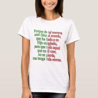 John 3:16 Spanish T-Shirt