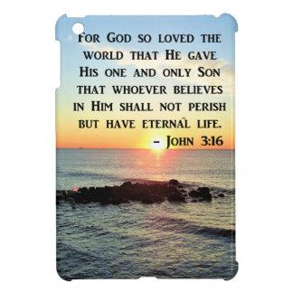 JOHN 3:16 SUNRISE ON THE OCEAN PHOTO iPad MINI COVER