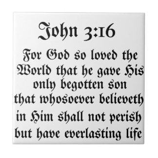 John 3:16 tile