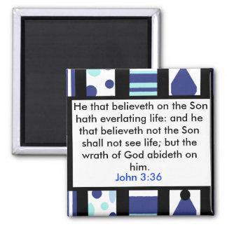 John 3:36 magnet