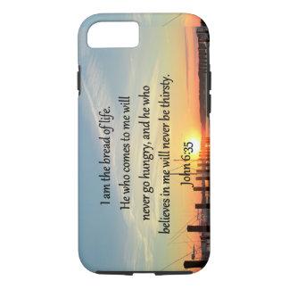 JOHN 6:35 SERENE SUNSET PHOTO DESIGN iPhone 7 CASE