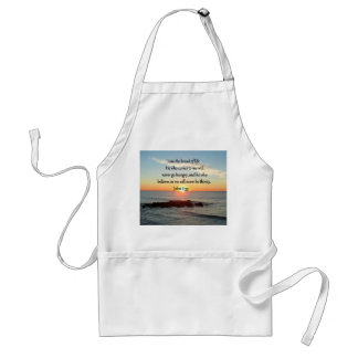 JOHN 6:35 SUNRISE PHOTO DESIGN STANDARD APRON