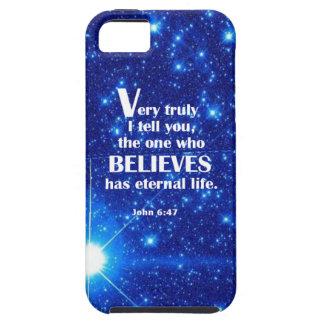 John 6 47 iPhone 5/5S case