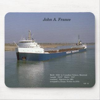 John A. France mousepad