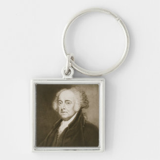 John Adams, 2nd President of the United States of Keychain