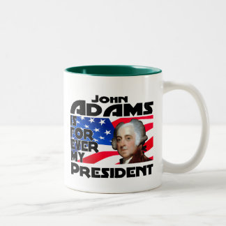 John Adams Forever Two-Tone Coffee Mug