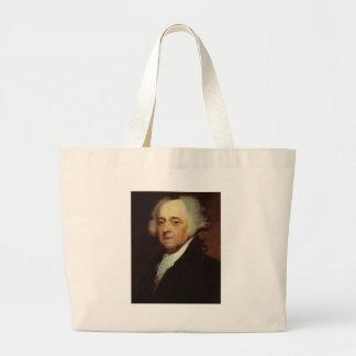 John Adams Large Tote Bag