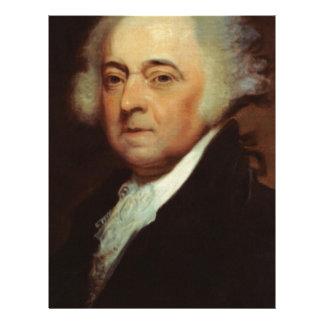 John Adams Letterhead