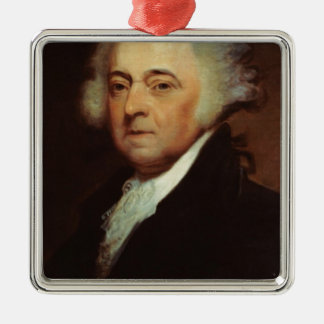 John Adams Metal Ornament