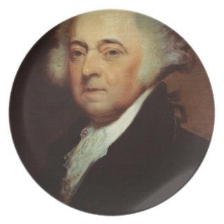 John Adams Plate