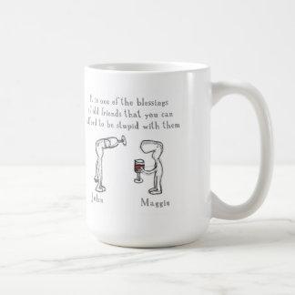 """""""John and Maggie """" Mug"""