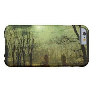 John Atkinson Grimshaw - At The Park Gate Barely There iPhone 6 Case