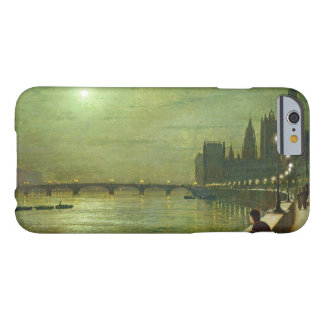 John Atkinson Grimshaw - Reflections on the Thames Barely There iPhone 6 Case