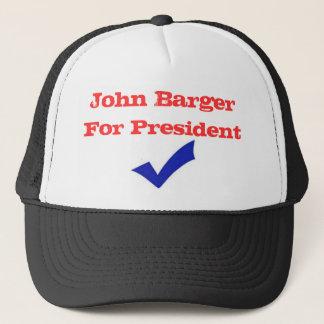 John Barger For President Trucker Hat