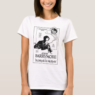 John Barrymore Jekyll Hyde 1920 T-Shirt