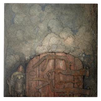 John Bauer - Bergaporten Tile
