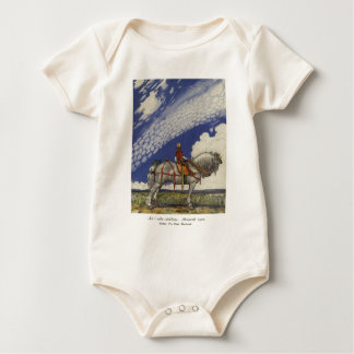 "John Bauer - ""Into the Wide World"" Baby Bodysuit"
