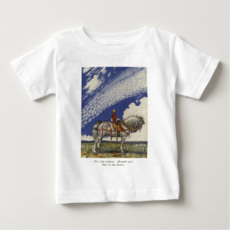 John Bauer - Into the Wide World Baby T-Shirt