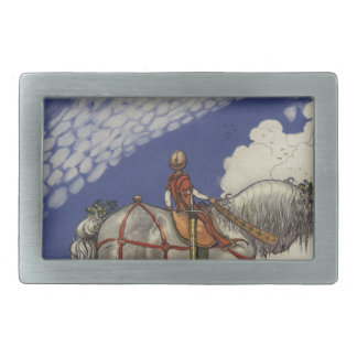 "John Bauer - ""Into the Wide World"" Belt Buckle"
