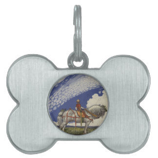 John Bauer - Into the Wide World Pet ID Tags