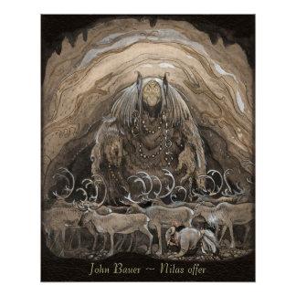 John Bauer Nilas offer CC0499 Perfect Poster
