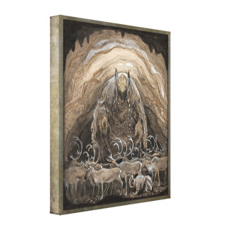 John Bauer Nilas offer CC0500 Stretched Canvas Prints