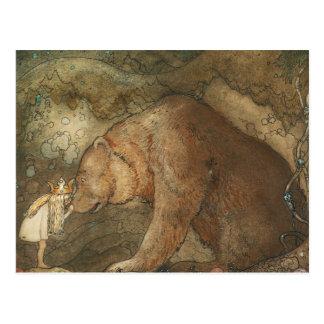 John Bauer - Poor Little Basse Postcard